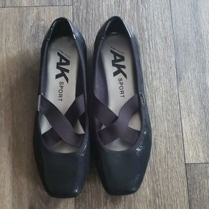 Anne Kleim Sport Black Ballet Style Shoes